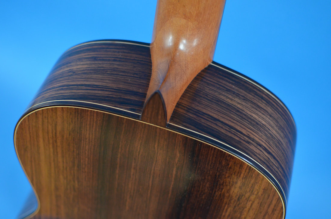 Richard Arnold Guitars Classical Guitar heel cap
