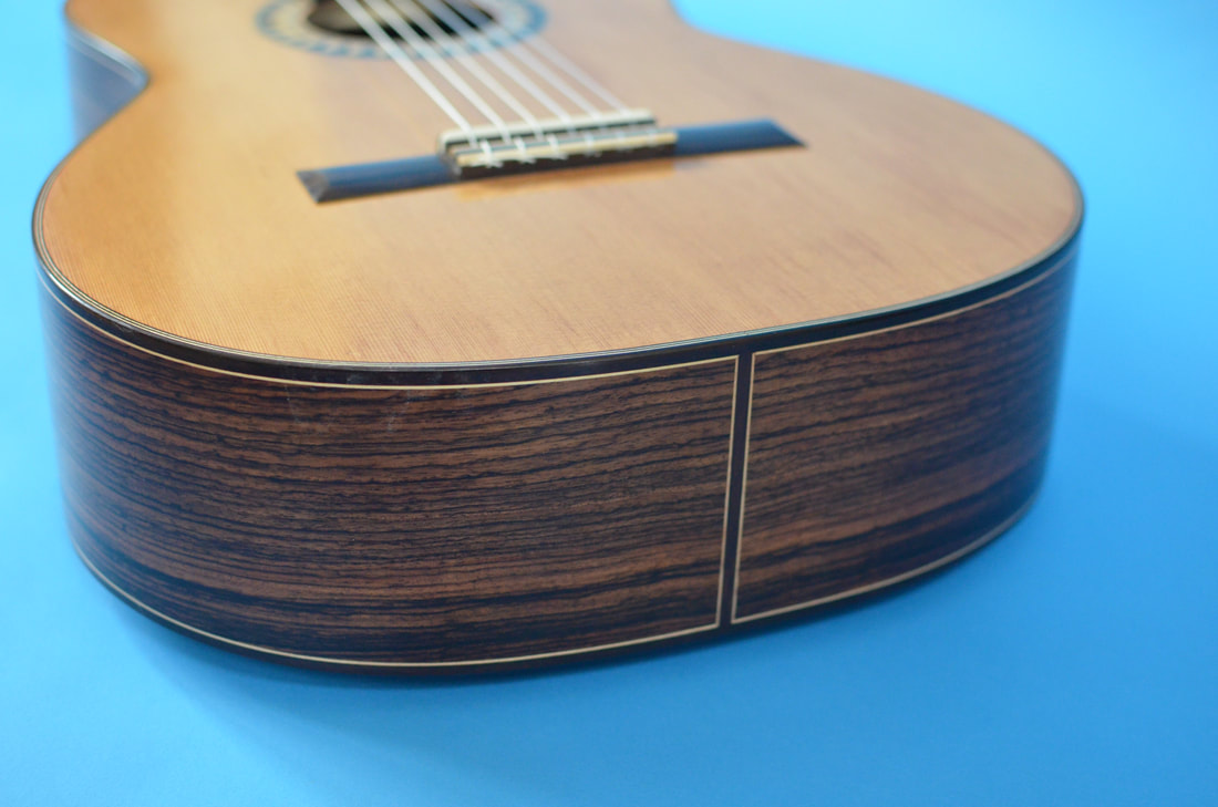 Richard Arnold Guitars Classical Guitar - tail stripe