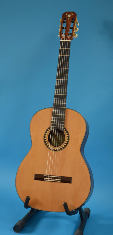 Richard Arnold Guitars Classical Guitar - front