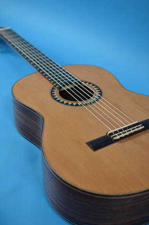 Richard Arnold Guitars Classical Guitar top
