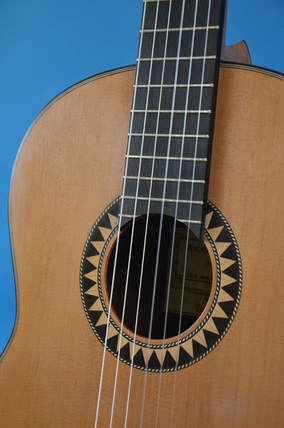 Richard Arnold Guitars Classical Guitar Sun pattern Rosette