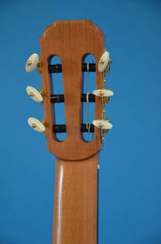 Richard Arnold Guitars Classical Guitar back of head