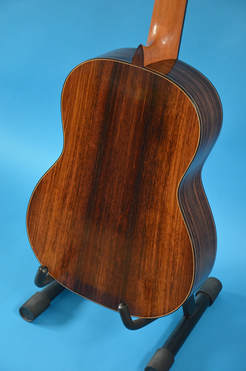 Richard Arnold Guitars Classical Guitar back