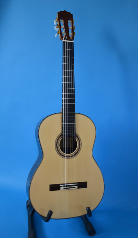 Handmade Classical Guitar Front