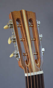 Steel String 00 Slotted Headstock - Front