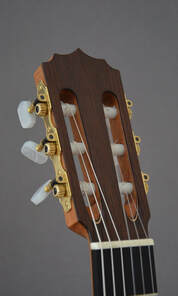 Classical Guitar Headstock CS1A Front