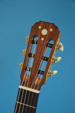 Richard Arnold Guitars Classical Guitar Head with Inlay