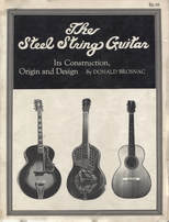 The Steel String Guitar - Construction Origin and Design - Donald Brosnac